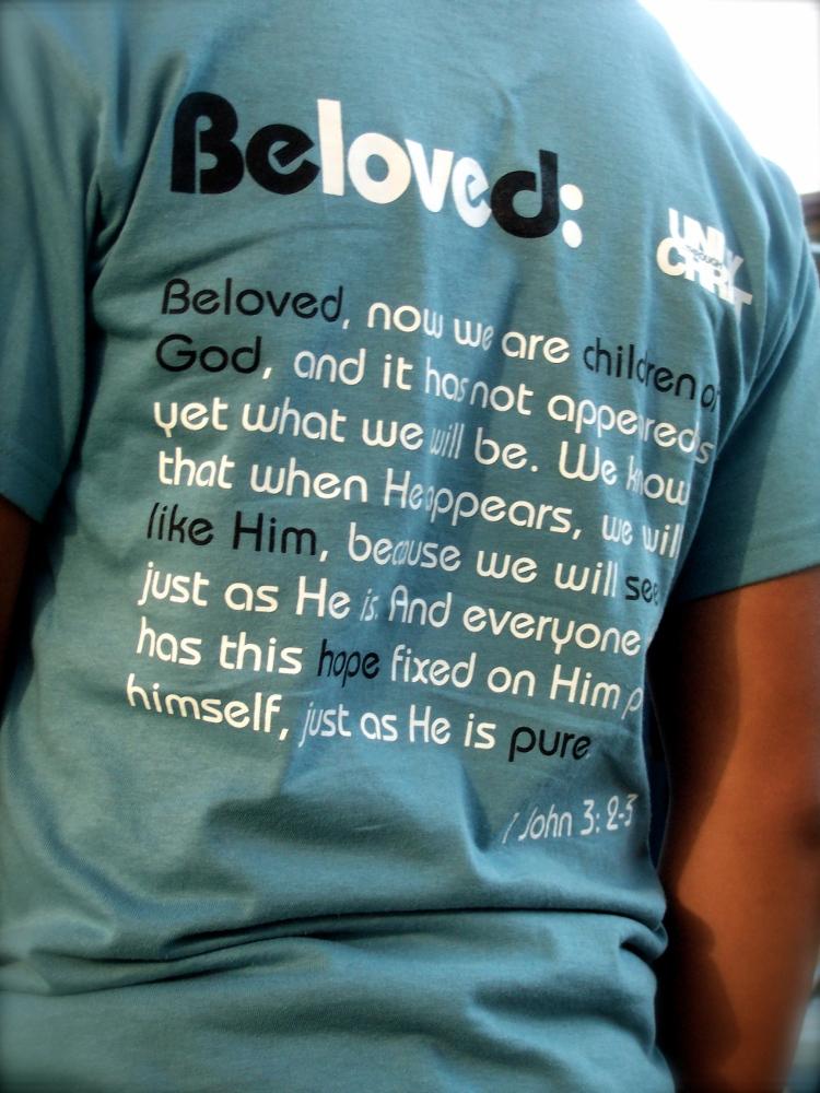 YPR 2009 Beloved shirt